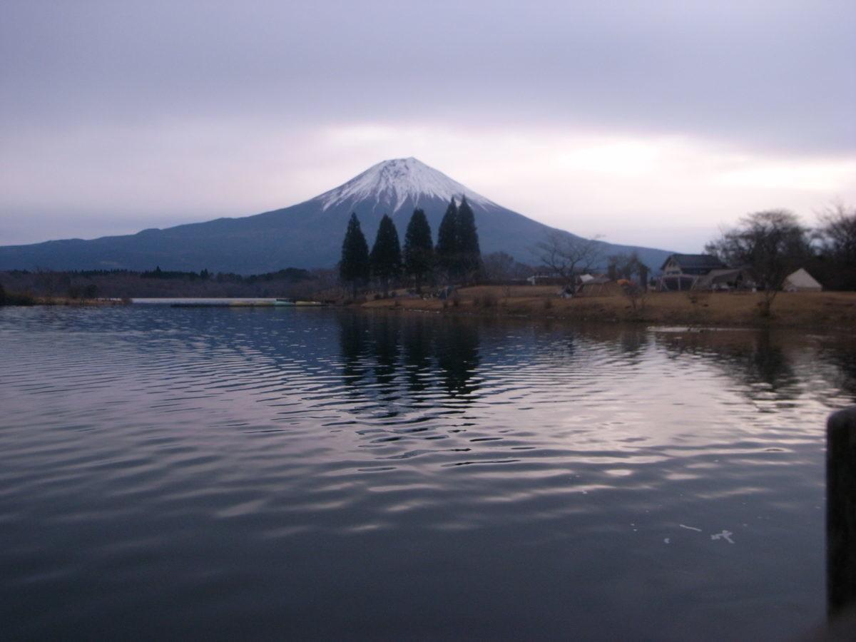 ↑富士山が眼前に!
