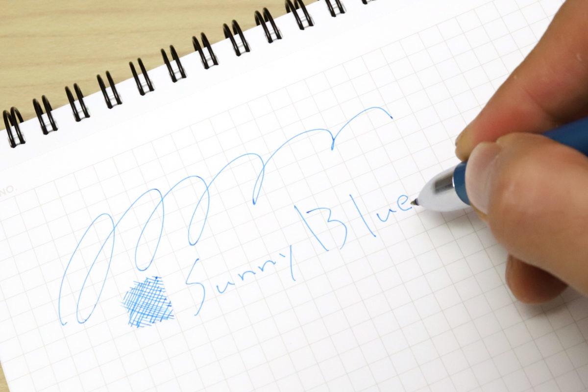↑個人的に非常にお気に入りのサニーブルー。とにかく爽快感のある青だ