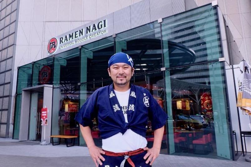 ↑生田さん。グローバル展開していて、フィリピンでは凪のほかに「博多豚一 Hakata Ton-ichi」というラーメン食堂も出店している